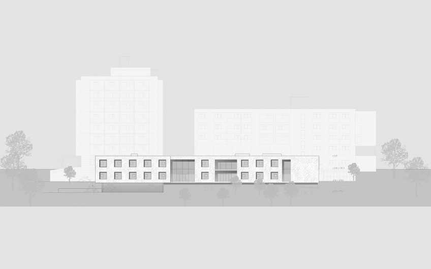 WB Umbau, Erweiterung, Teilsanierung Pflegewohnheim Rosenhain
