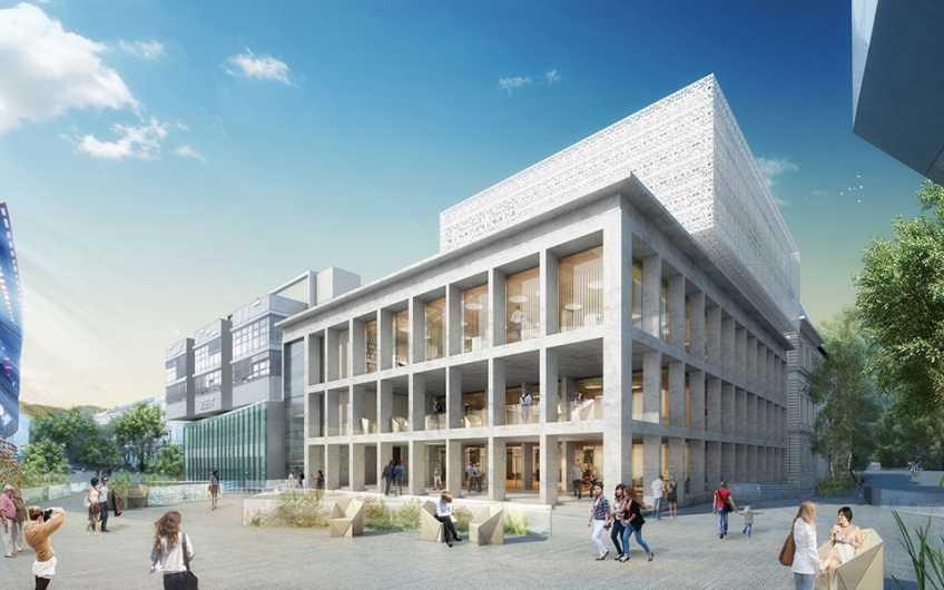 Universitätsplatz 3a | Bibliothek