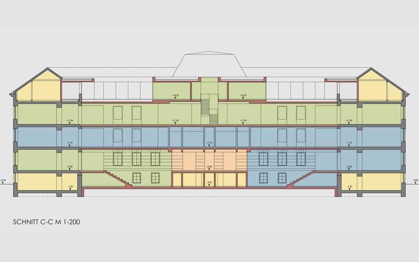 Generalsanierung Bildungszentrum Innenstadt Leoben